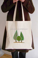 handle cotton canvas bag/ fashional cotton canvas tote bags/ beaded bags patterns