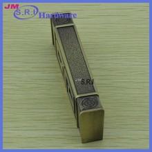 Rectangle modern kitchen flat drawer metal handles
