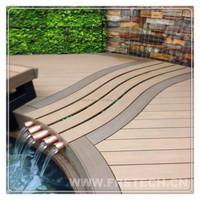 garden wood plastic floor boards laminated wood boards plastic composite board