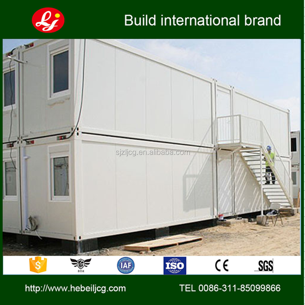 20 feet low cost container house prefabricated residential for Maison low cost container