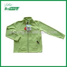 Micro polar fleece light jacket