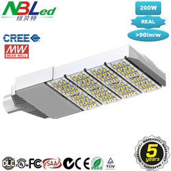 Popular 200W LED Street Light, LED Street Light, IP65, Meanwell Driver, 5 Years Warranty, CE&RoHS, SAA approved, Low price