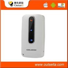 IEEE802.11b/g/n 3000mah power bank wifi hotspot with rj45 wan port