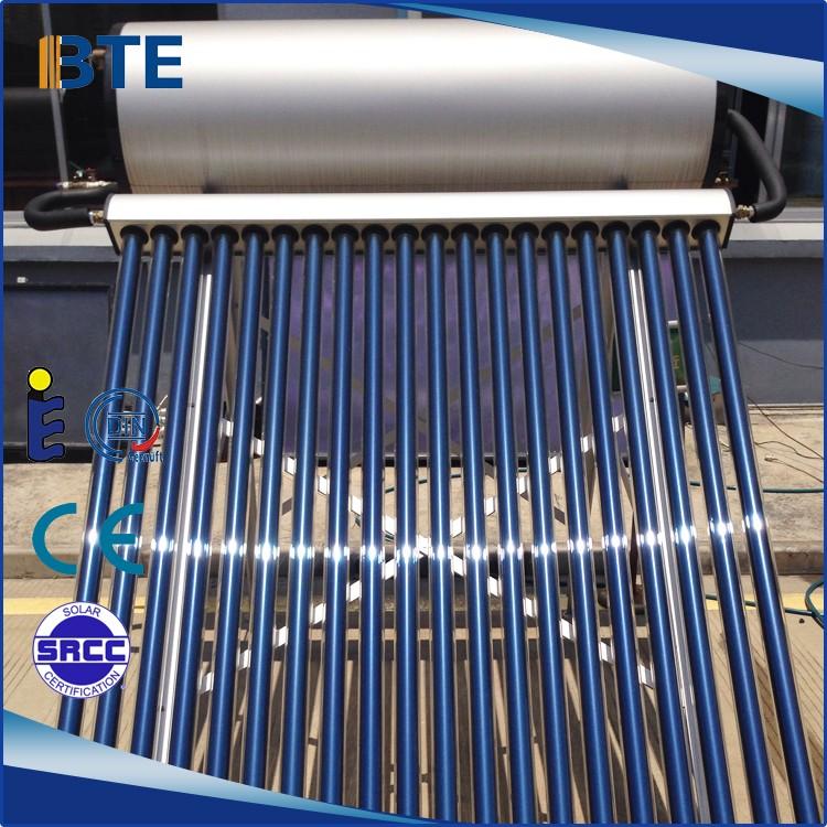 O preço de fábrica por atacado 58*1800mm tubo de aquecedor solar de água para o tipo U