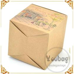 New Design Fashion fancy wedding dress packaging box with great price