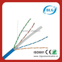 Data cable UTP Cat 6 cable 0.56mm CCA Bare Cooper