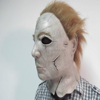 OFFICIAL 1981 MICHAEL MYERS LATEX MASK from HALLOWEEN II FILM, STANDARD EDITION