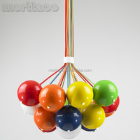 famous designer pendant lamp, small christmas balls smart lighting