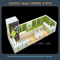 2014 new product ideas design mobile phone used retail store furniture