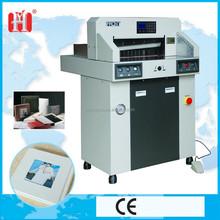 Automatinc hydraulic cardboard cutting machine