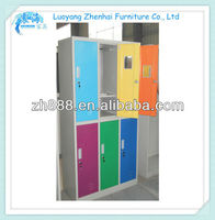 colorful steel clothes cabinet design