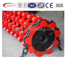 round link chain and chain wheel