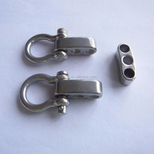 Dongguan YiKai Stainless Steel Shackle Buckle D Shaped 4mm adjustable shackle