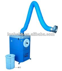 Portable industrial smoke filter for various welding