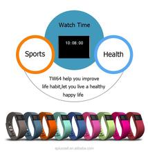 TW64 Bluetooth Waterproof Smart Watch Bracelet for Smart Phone Fitness Tracker