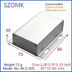 Split Body Project Box for Electronic DIY Aluminum enclosure
