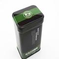 caja de lata rectangular de dongguan proveedor caso de café