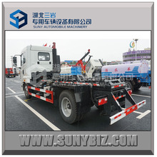 CAMC 180hp 5-6 tons Hooklift Garbage Truck, arm roll garbage truck hydraulic