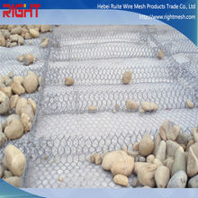 Quality Products Hexagonal Stone Cage, Hexagonal Rock Basket Wire Mesh
