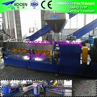 pet plastic flake granulating machine with long use life