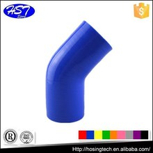 45 degree auto engine 4 ply silicone hose /coupler
