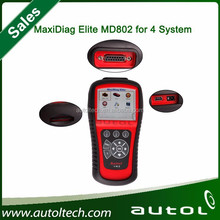 [Authorized Dealer] Original free update Autel MaxiDiag Elite MD802 md 802 MaxiDiag Elite MD802 full system and most vehicles