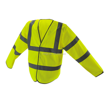 long sleeve reflective safety vest