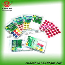 Venta al por mayor número de espuma eva etiqueta/3d adhesivo de la espuma decoración de la habitación etiquetas
