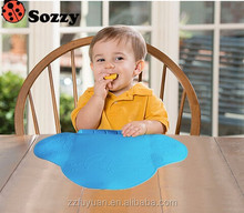 high quality sozzy brand portable waterproof baby dinner pad&cushion&mat