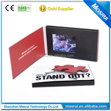 Popular Sales LCD Video Business Cards for Brand Advertising