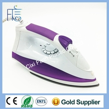Wholesale Teflon-coated Dual Voltage with steam iron water pump and Burst Steaming Travel Iron