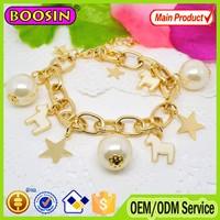 New arrival custom-made women sex animals bracelets/different colors enamel horse shape charm bracelet #31497