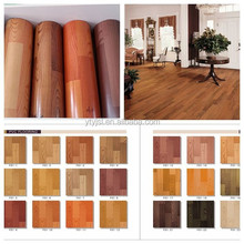 Indoor wood look Roll pvc vinyl flooring linoleum flooring