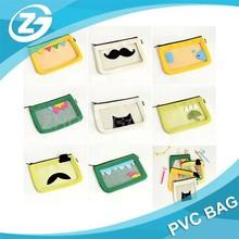 Mini Toy Vinyl Travel Cosmetic Bag, clear Vinyl Bag For Kids