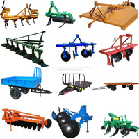Can Plow And Rake Traction Manners Trailer Farm Tractor