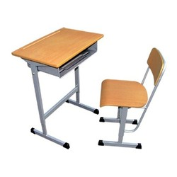 Wooden school desk and chair combo school desk and chair