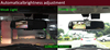 Automotive use rearview mirror , 4.3 inch digital rear view mirror car monitor rear view camera high brightness screen