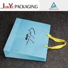 Manufacture logo printed custom eco friendly glossy handmade recycled package bags