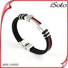 Rojo de la joyería de negocios para la venta de productos de tendencias calientes 2015 de la pulsera de cadena