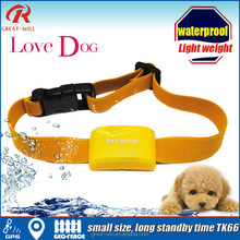 Accurate mini small waterproof Long life cat gps dog collar for dog