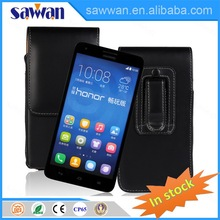 universal genuine leather phone case sublimation printing for HUAWEI Honor 3X