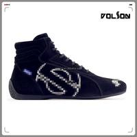FIA Fire Resistant Car Racing Shoes Motorbike Leather Shoes/Motorcycle Racing Shoes/Biker Shoes
