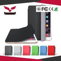 Slim Magnetic PU Leather Smart Cover + Hard Back Case For Apple iPad 5 air 2015