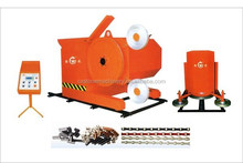 Granite wire saw cutting machine/granite block cutter