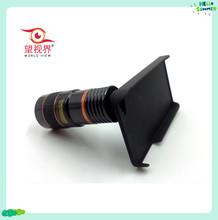 obiettivo del telefono mobile con coperchio in alluminio telescopio obiettivo della fotocamera