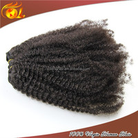 2015 New Arrival ethiopian virgin hair weave wholesale afro kinky human hair weave