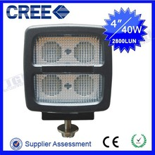 Heavy duty ,jeep,auto parts led work light 9-80v off road led driving lamp cree 40w ip68