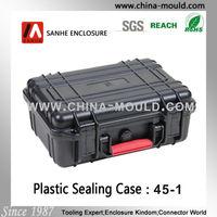 abs plastic waterproof dustproof shockproof equipment case