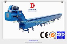 Low price high quality hinged belt type chip conveyor protective cnc machine from all kinds chips