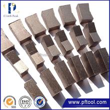 2015 New design low price diamond core drill bit segment for asphalt